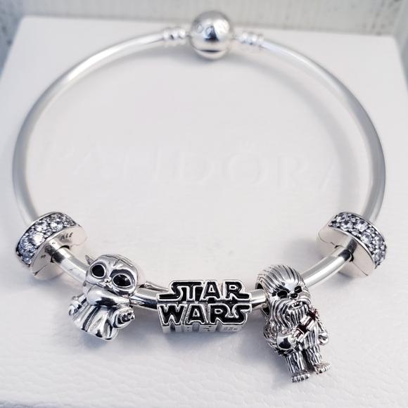 Pandora Jewelry Authentic Pandora Star Wars Bracelet Set Poshmark